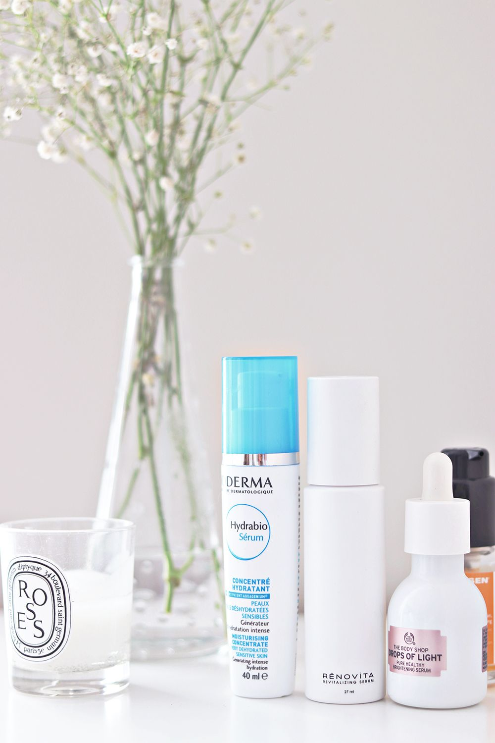 favorite skincare and serum