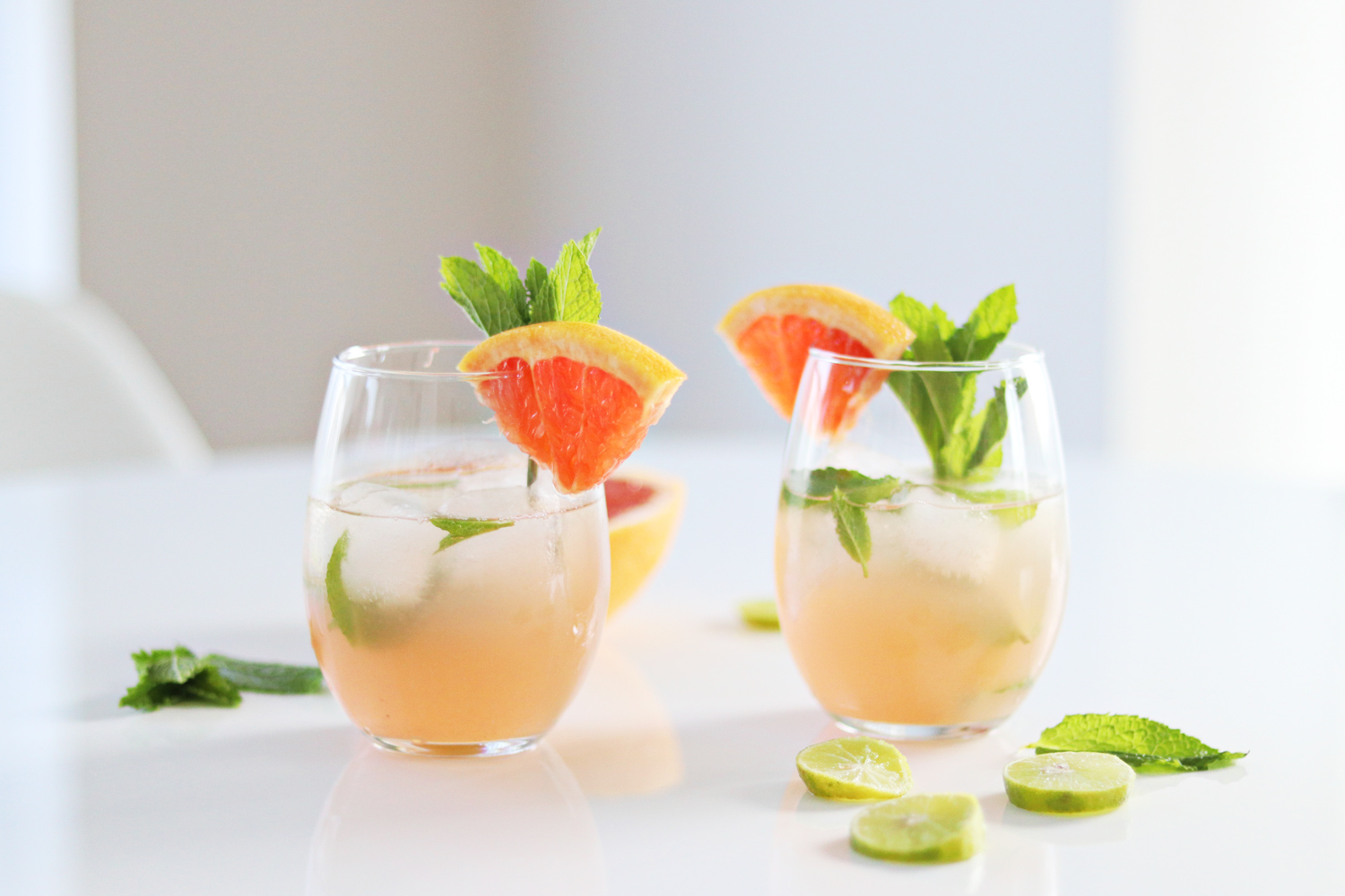 summer grapefruit mojito recipe
