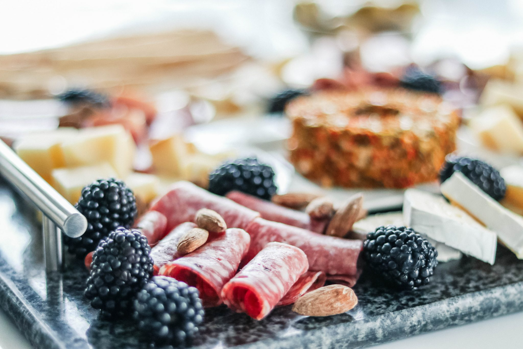 instagrammable meat and cheese board