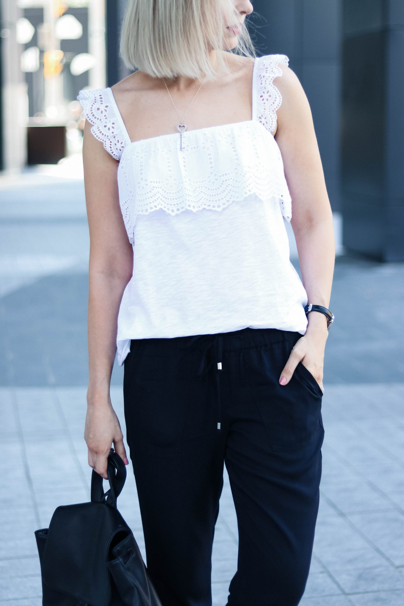 hm broderie anglaise top summer style 2