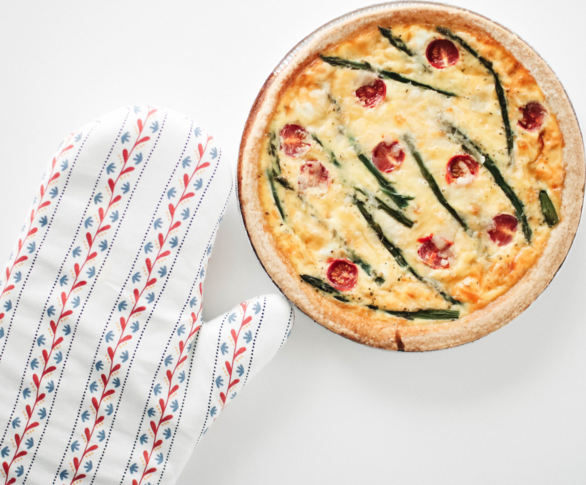 easy to bake asparagus quiche 2