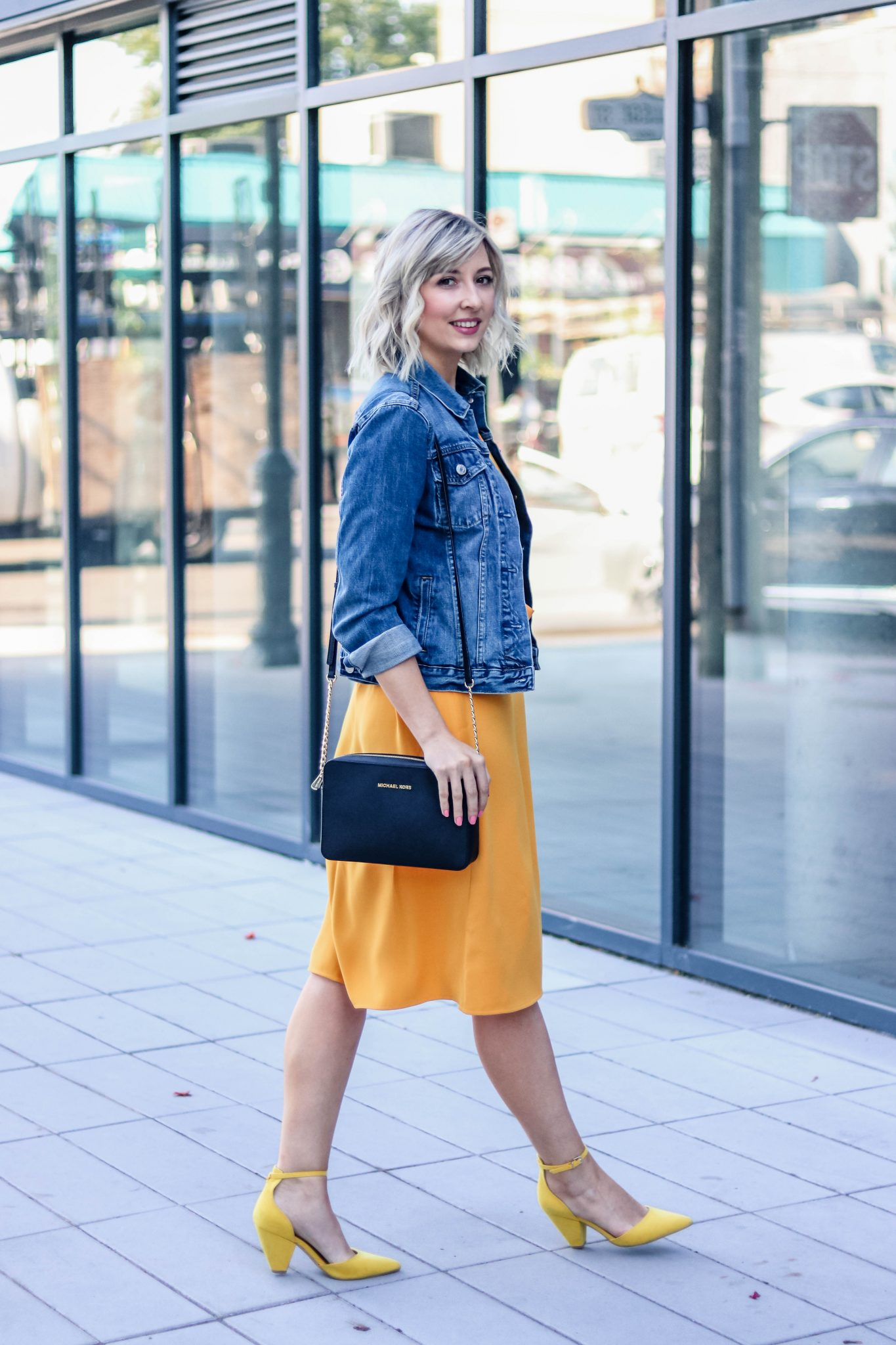 5 tips to style a denim jacket