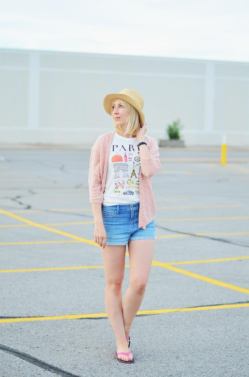 j. crew paris printed t-shirt 2