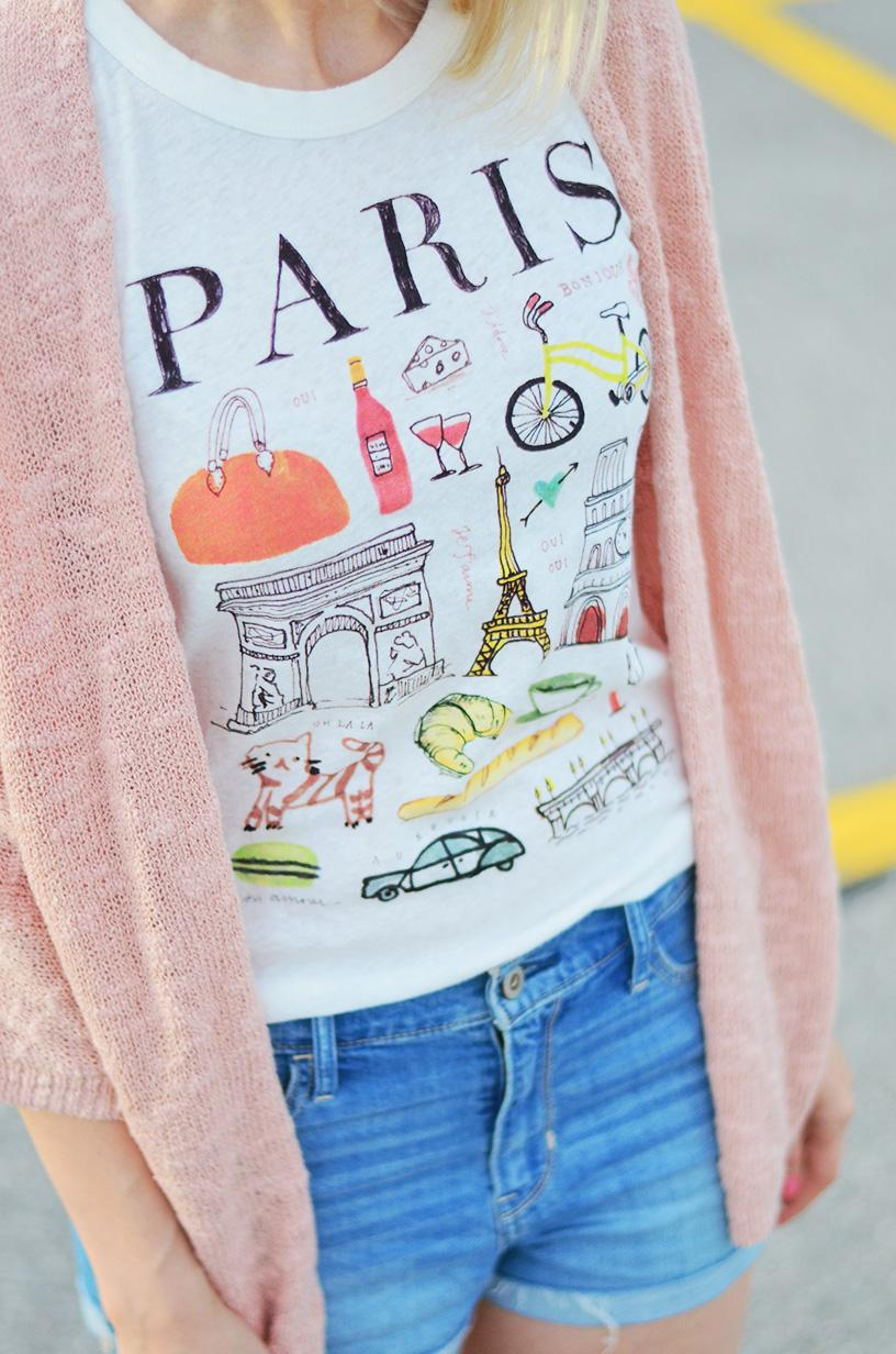 j. crew paris printed t-shirt 3