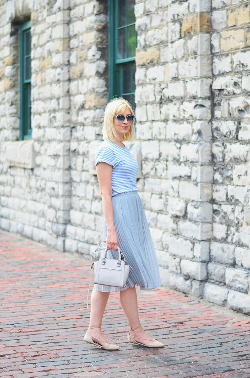 pleated skirt summer style 1
