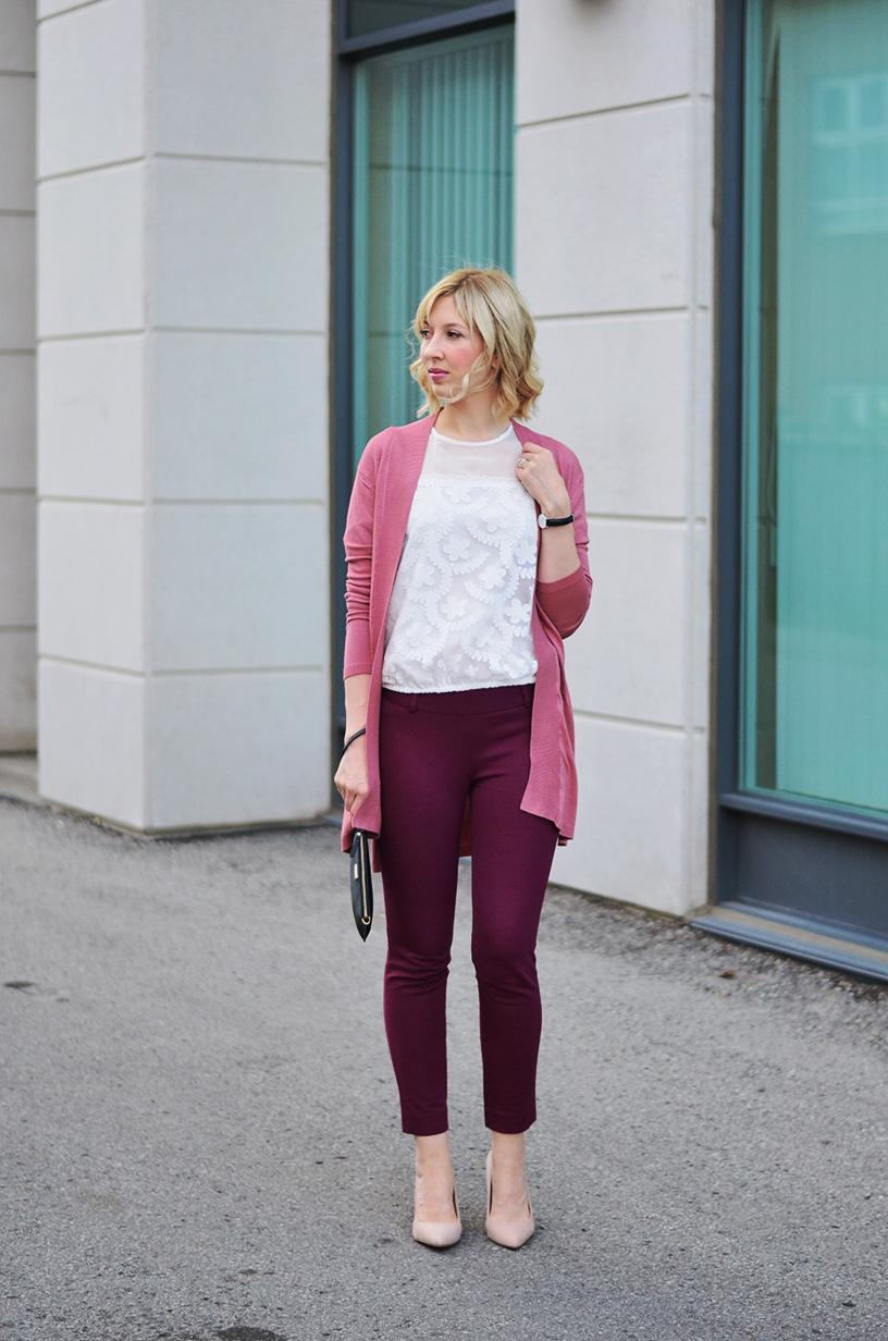 lace top mauve cardigan 7