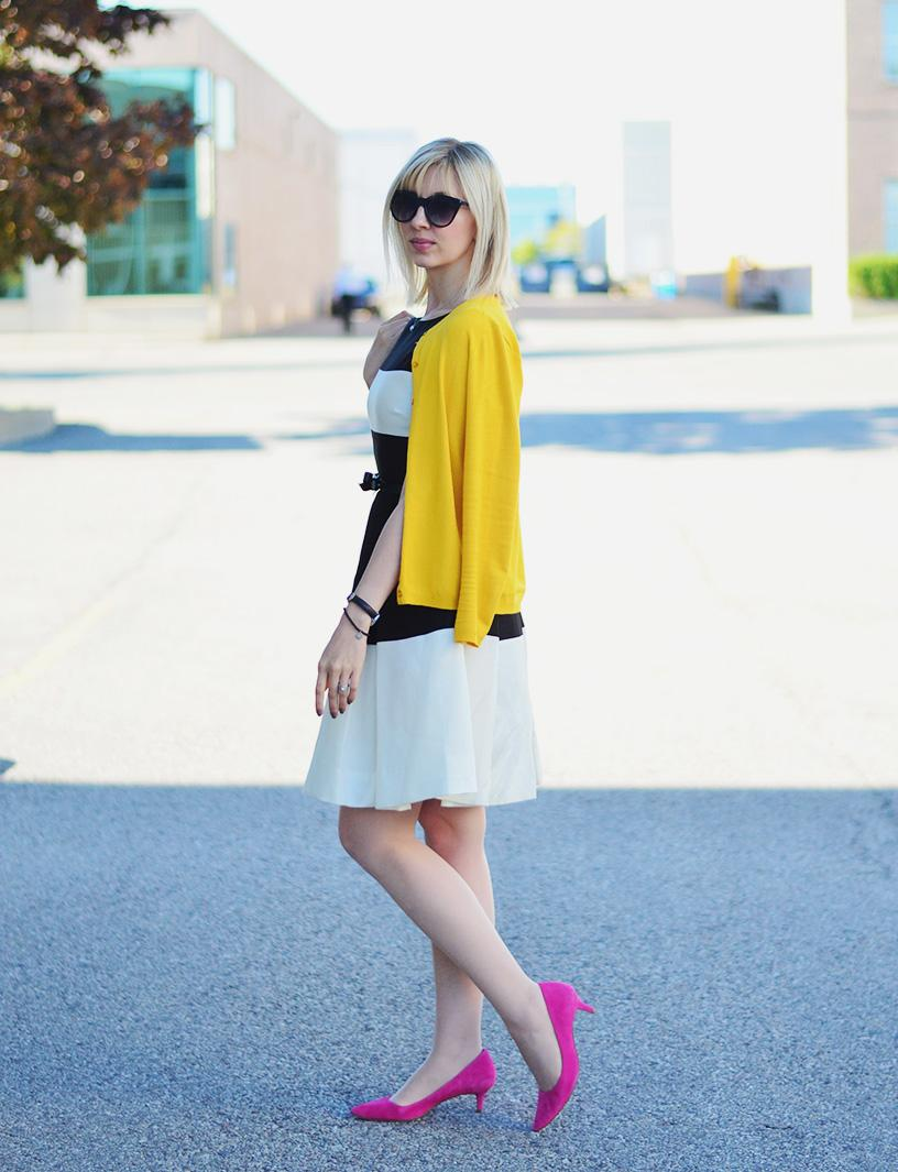 stripes dress kate spade style