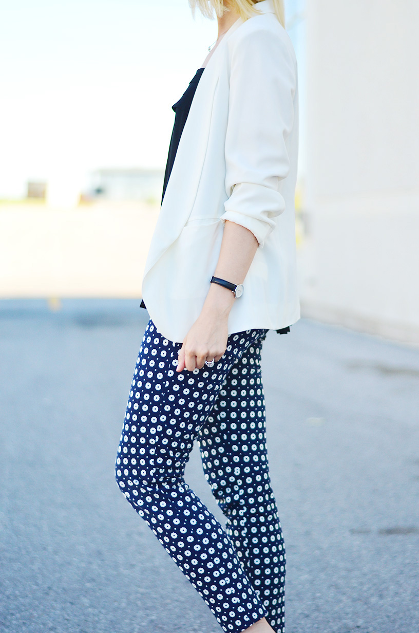 white blazer for the fall style