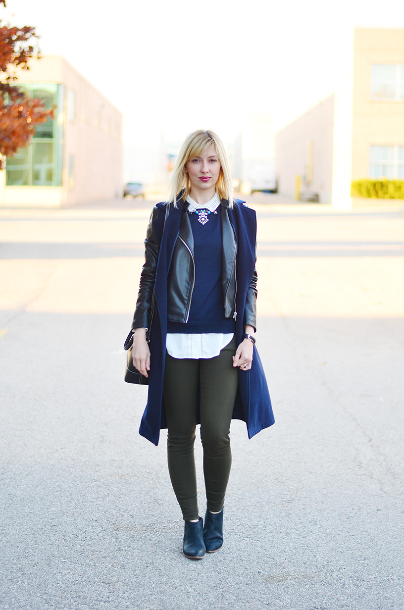 sleeveless coat fall style idea 1
