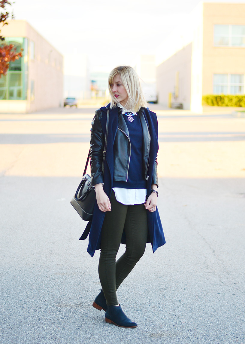 sleeveless coat fall style idea 2