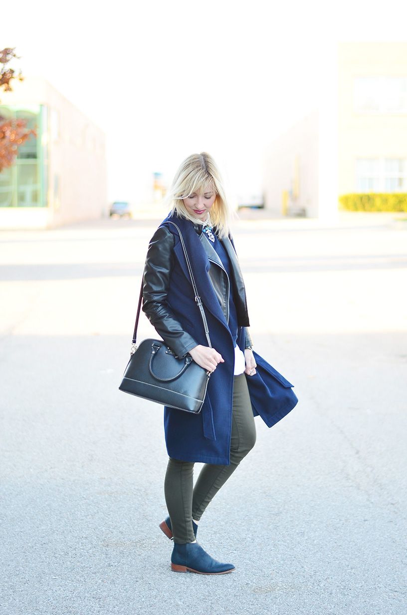 sleeveless coat fall style idea 5