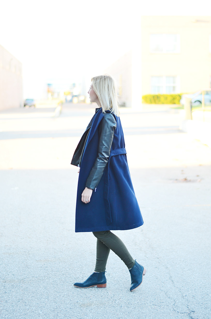 sleeveless coat fall style idea 6
