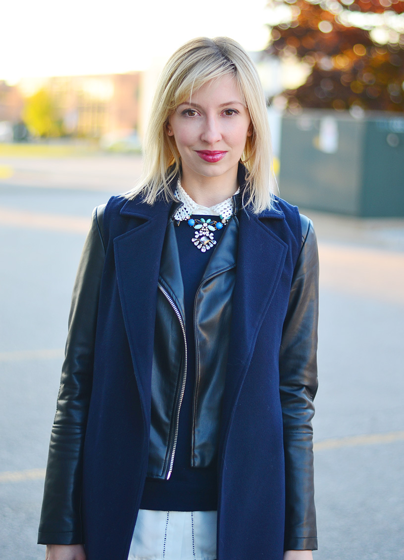sleeveless coat fall style idea 4
