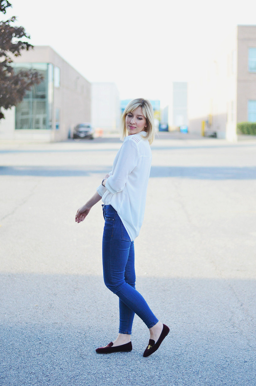 white shirt skinny jeans style 1