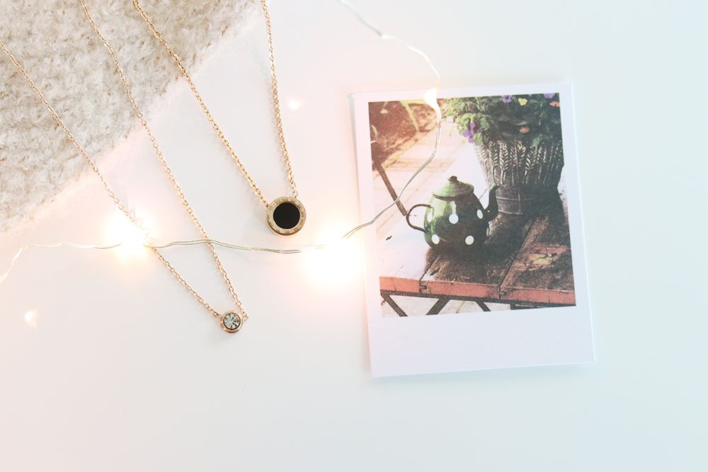 happiness boutique necklace rose gold