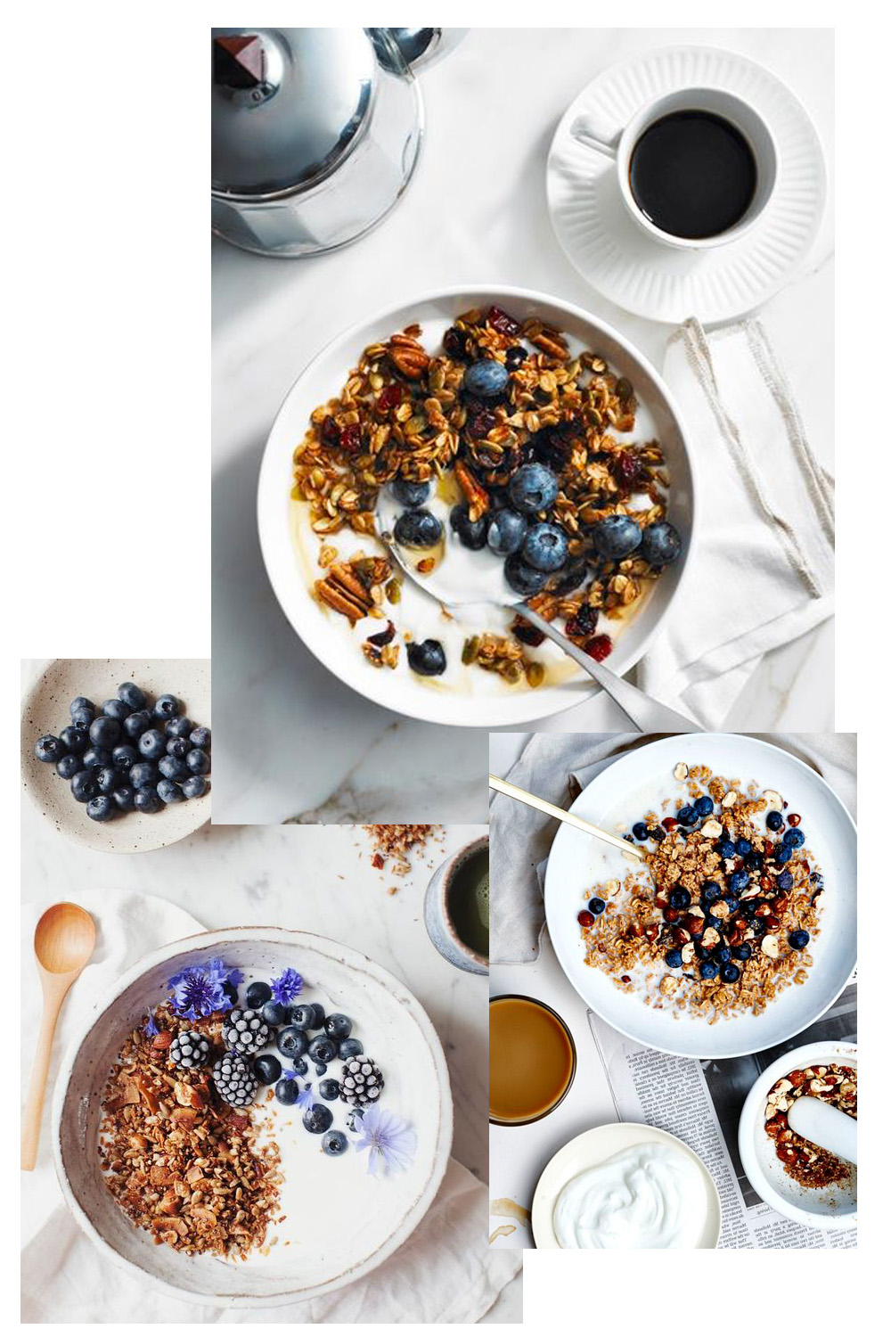 healthy breakfast ideas granola
