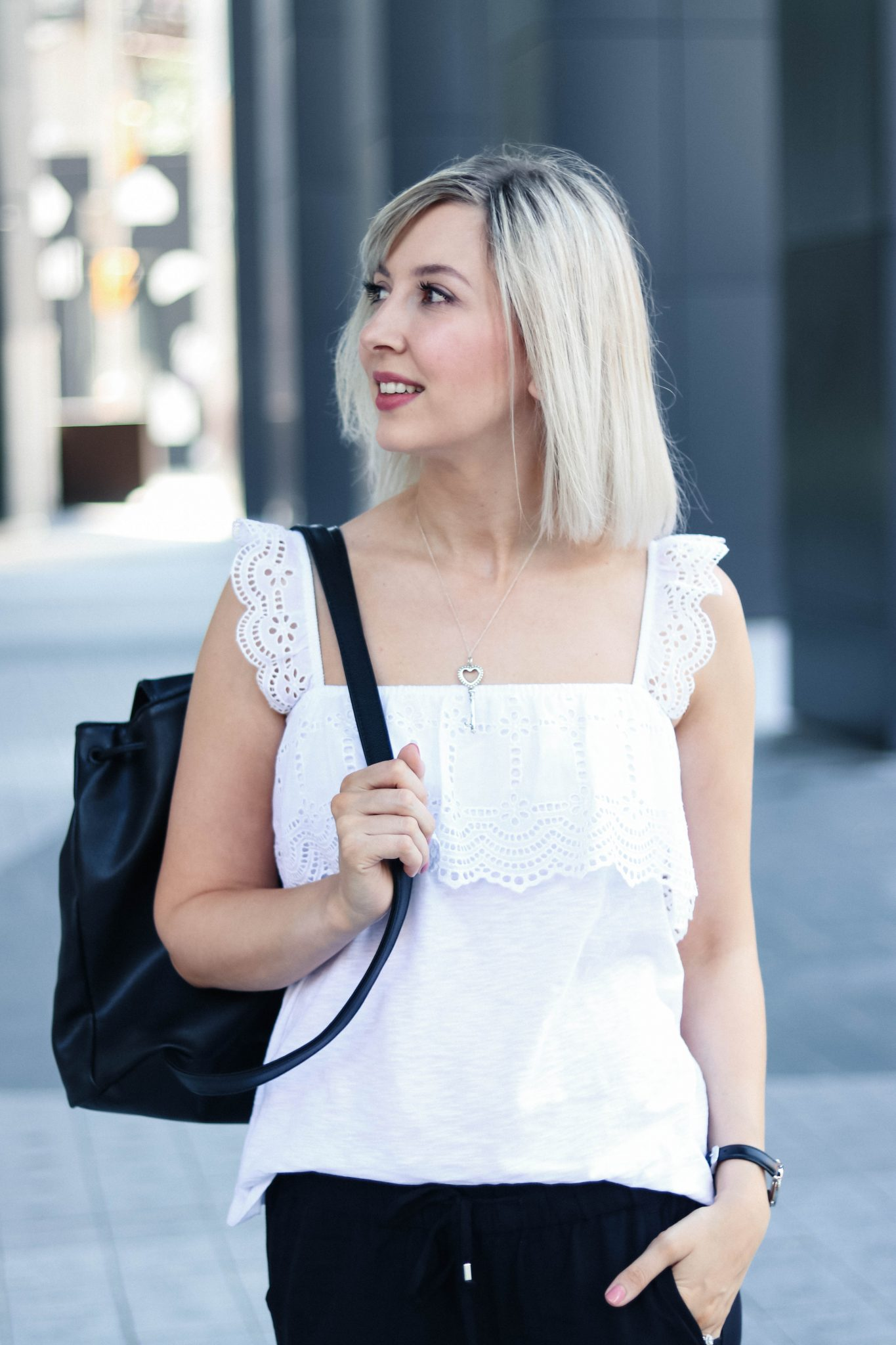 hm broderie anglaise top casual summer style 12
