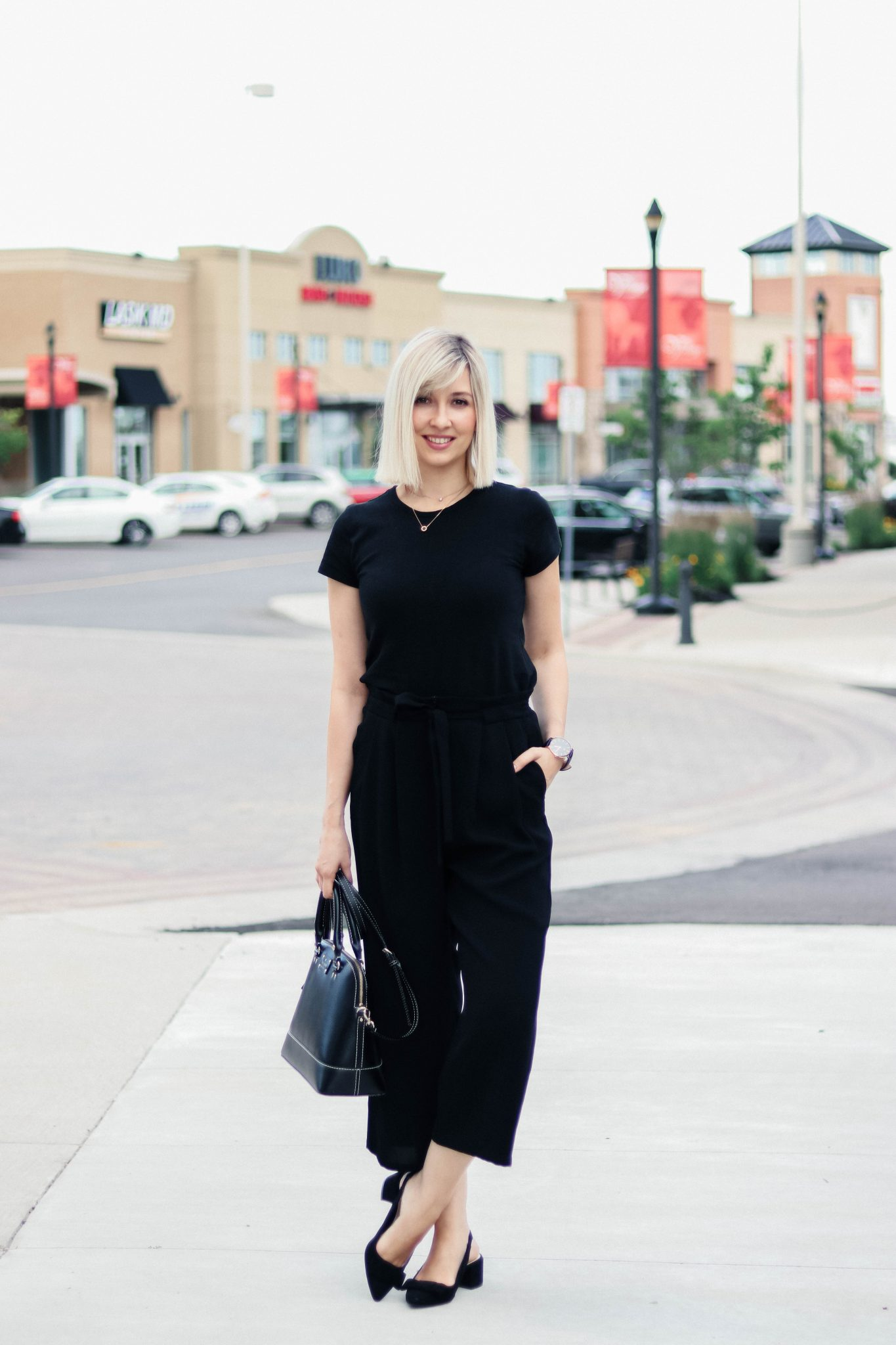 culottes business casual style