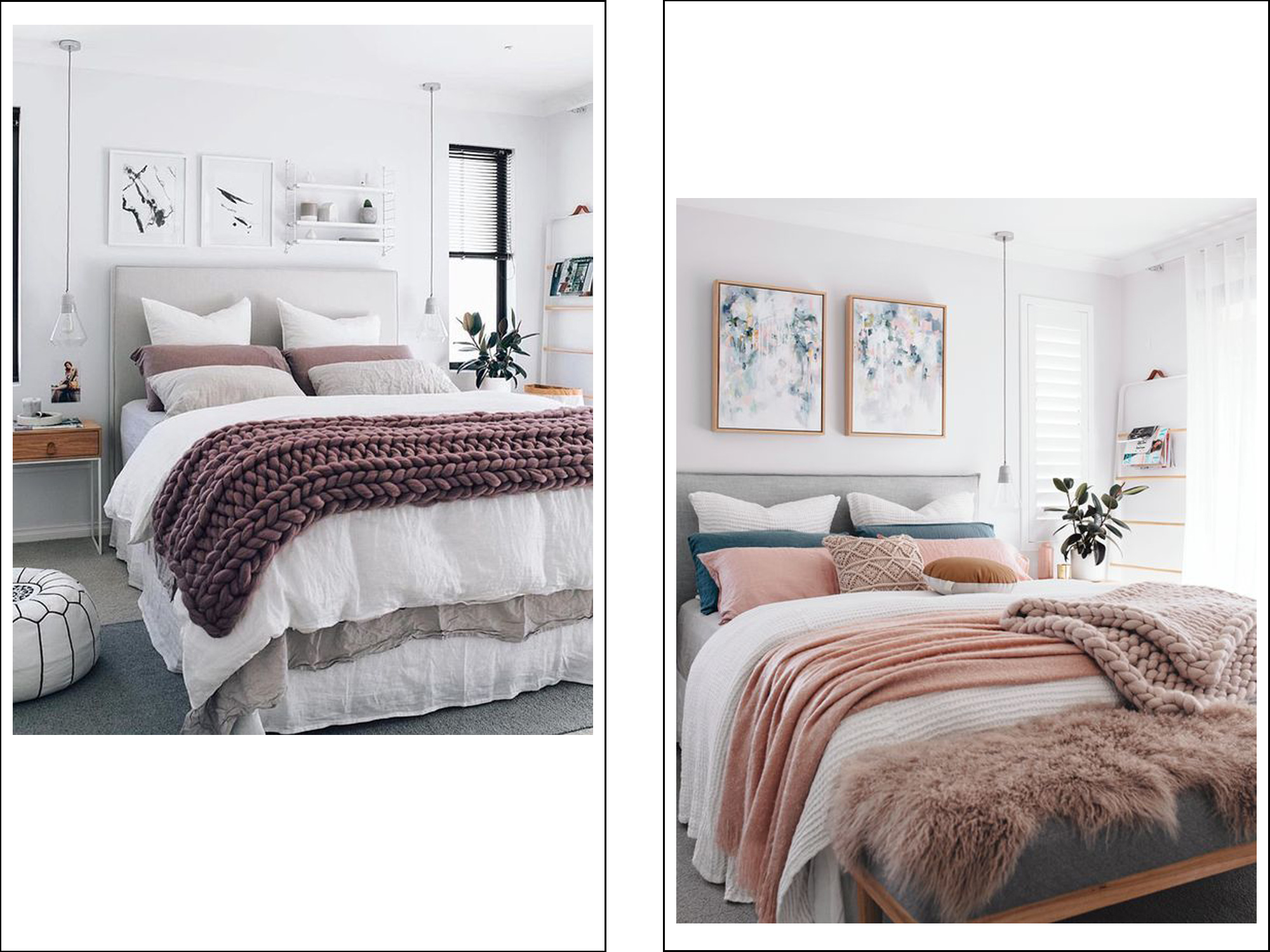 pinterest inspiration bedroom design pink