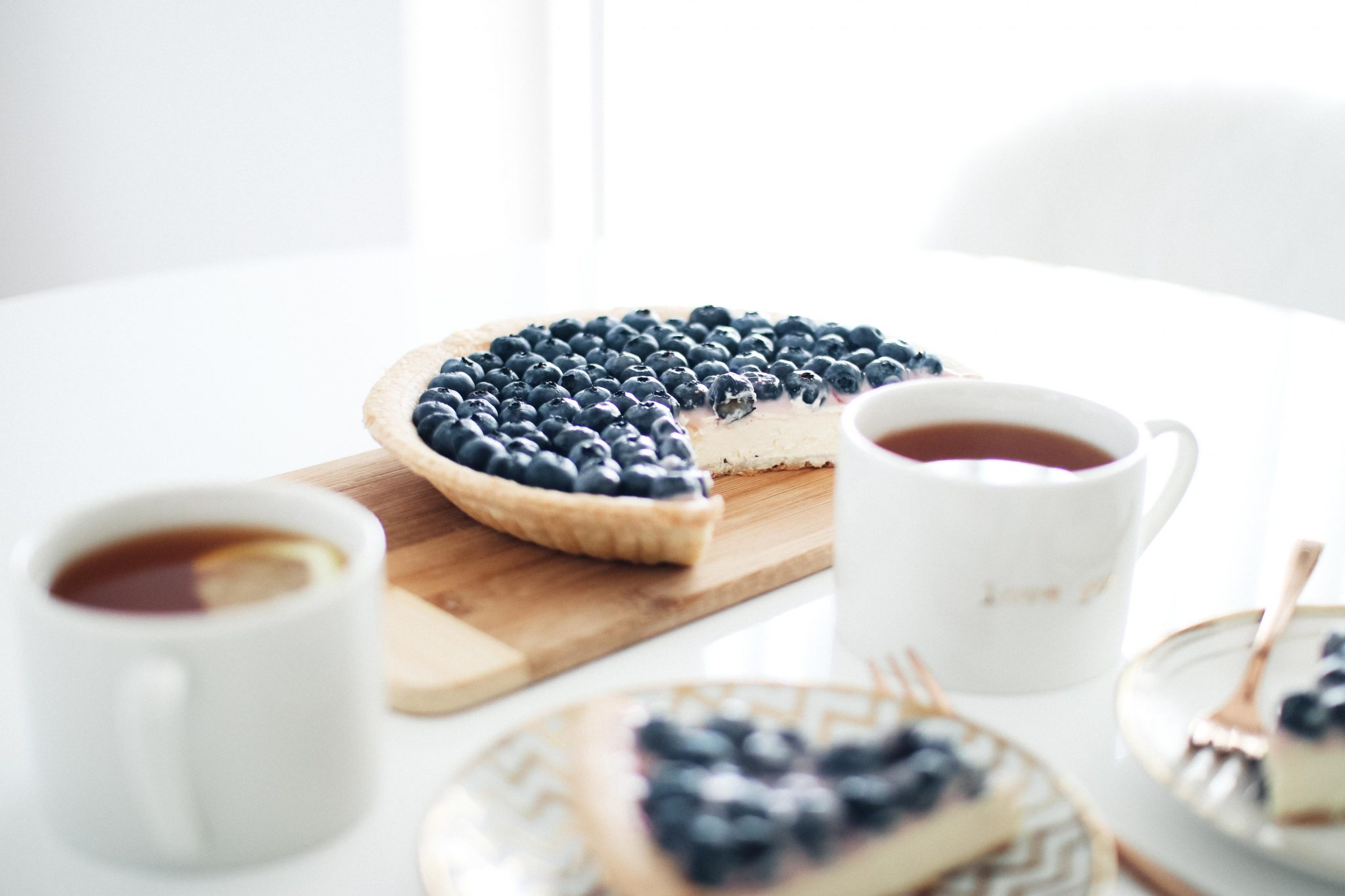 fast and easy blueberry cheescake recipe 2