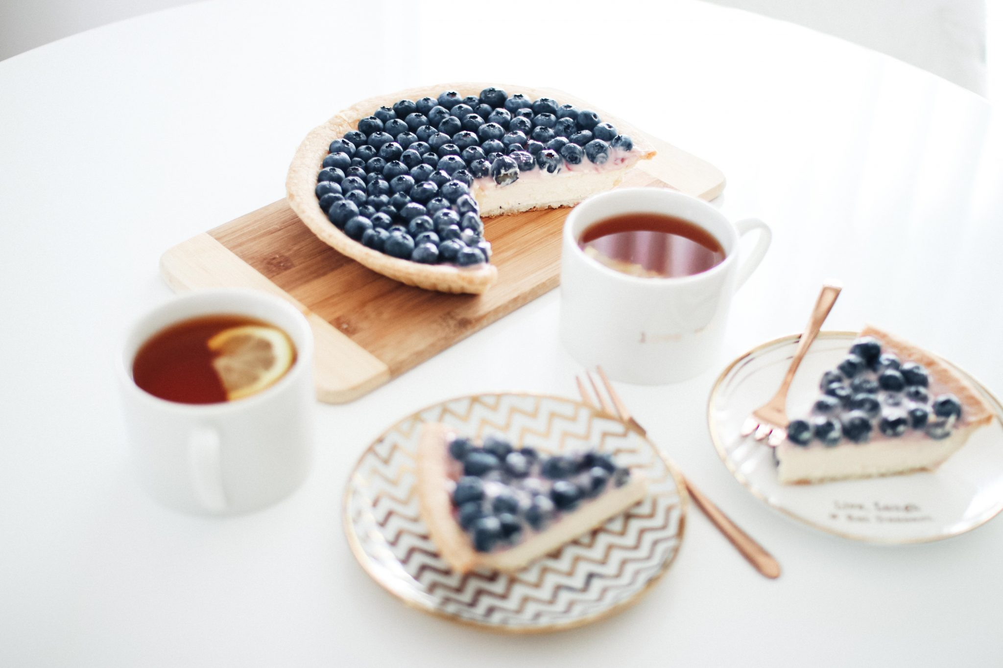 fast and easy blueberry cheescake recipe 3