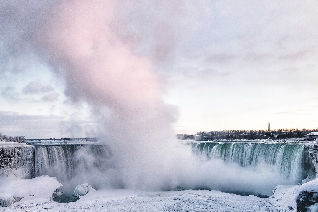 frozen Niagara Falls winter 2018 3