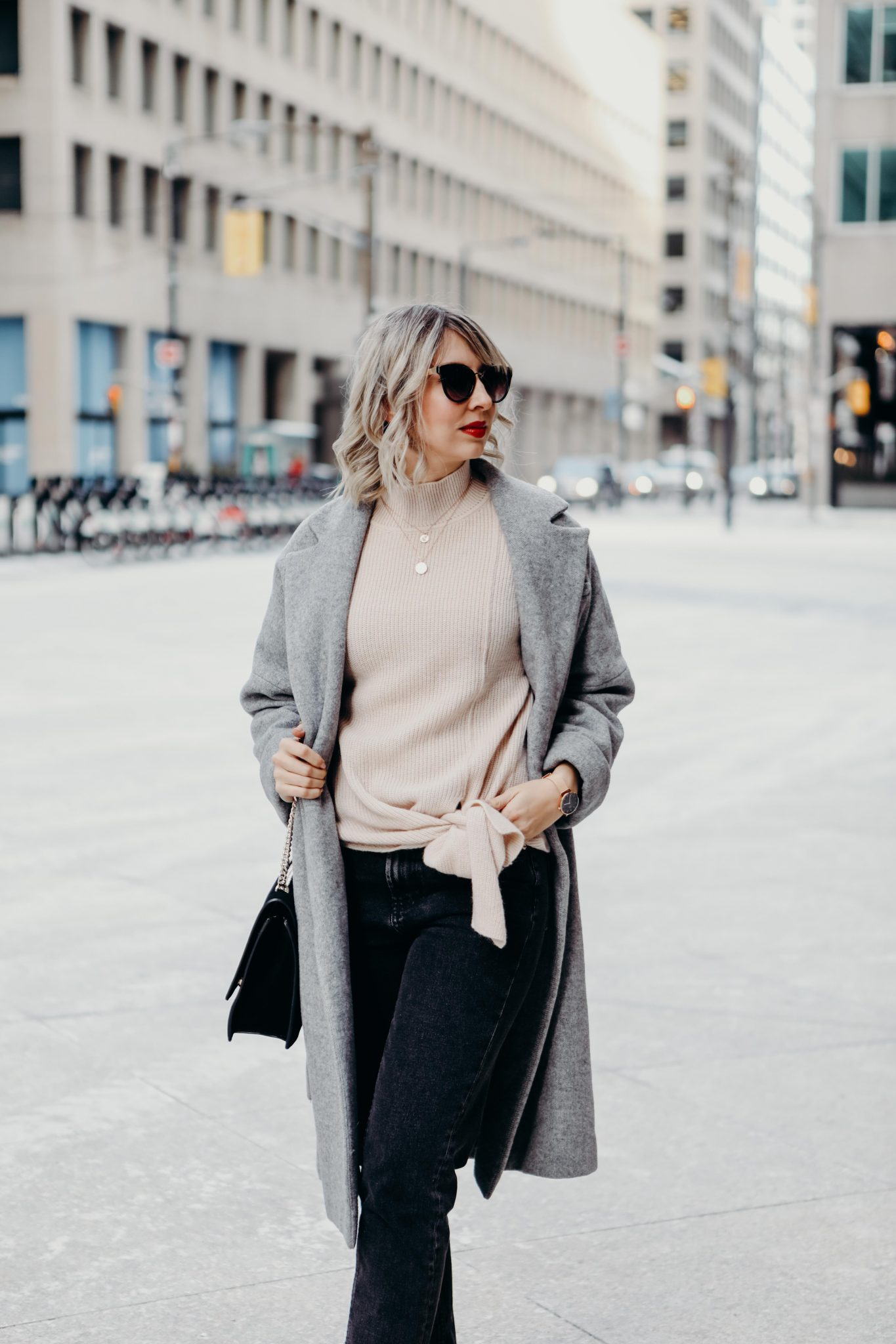 long coat style in the city (1 of 7)