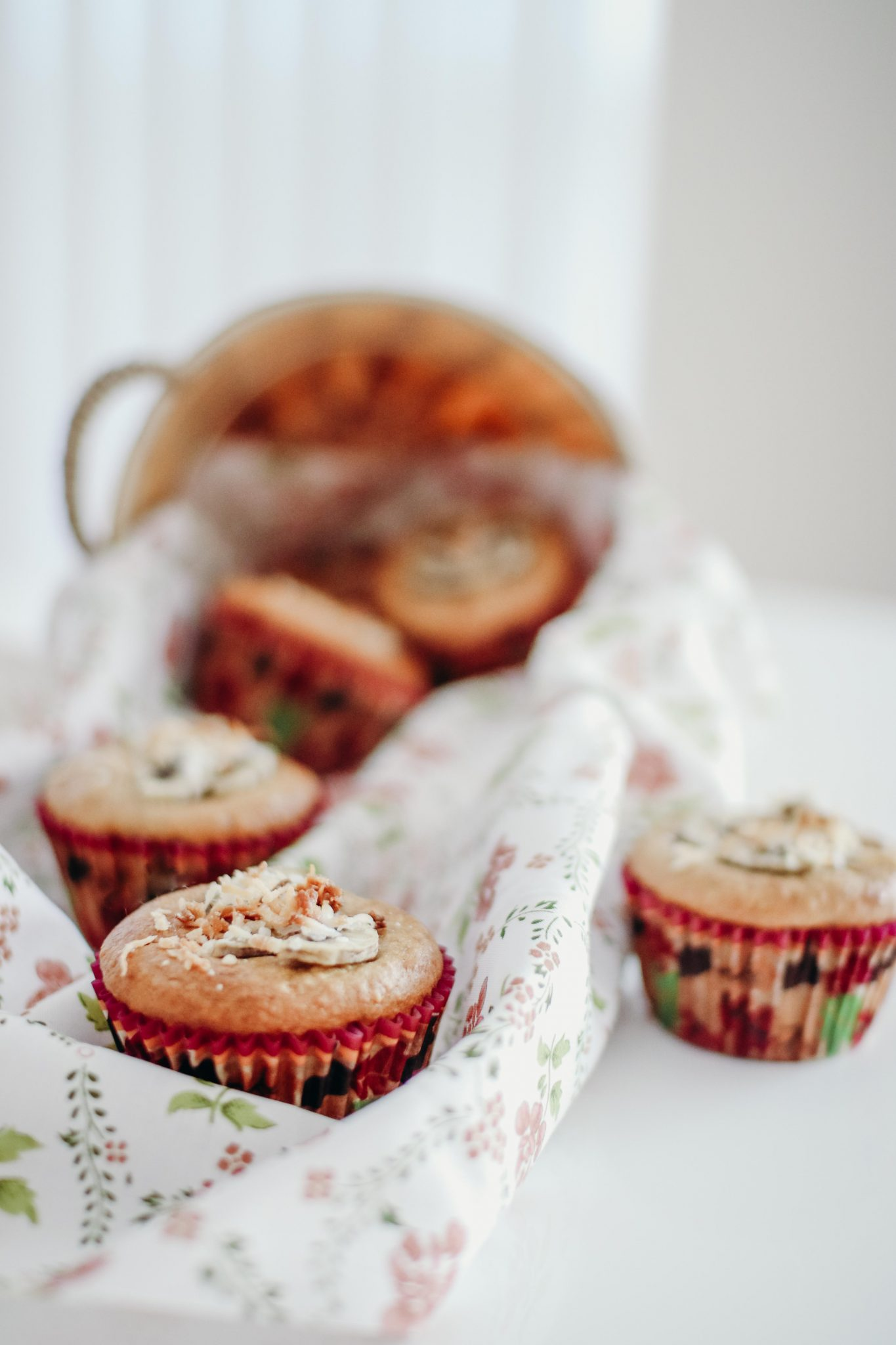 Banana Bread Muffins with Coconut (1 of 1)