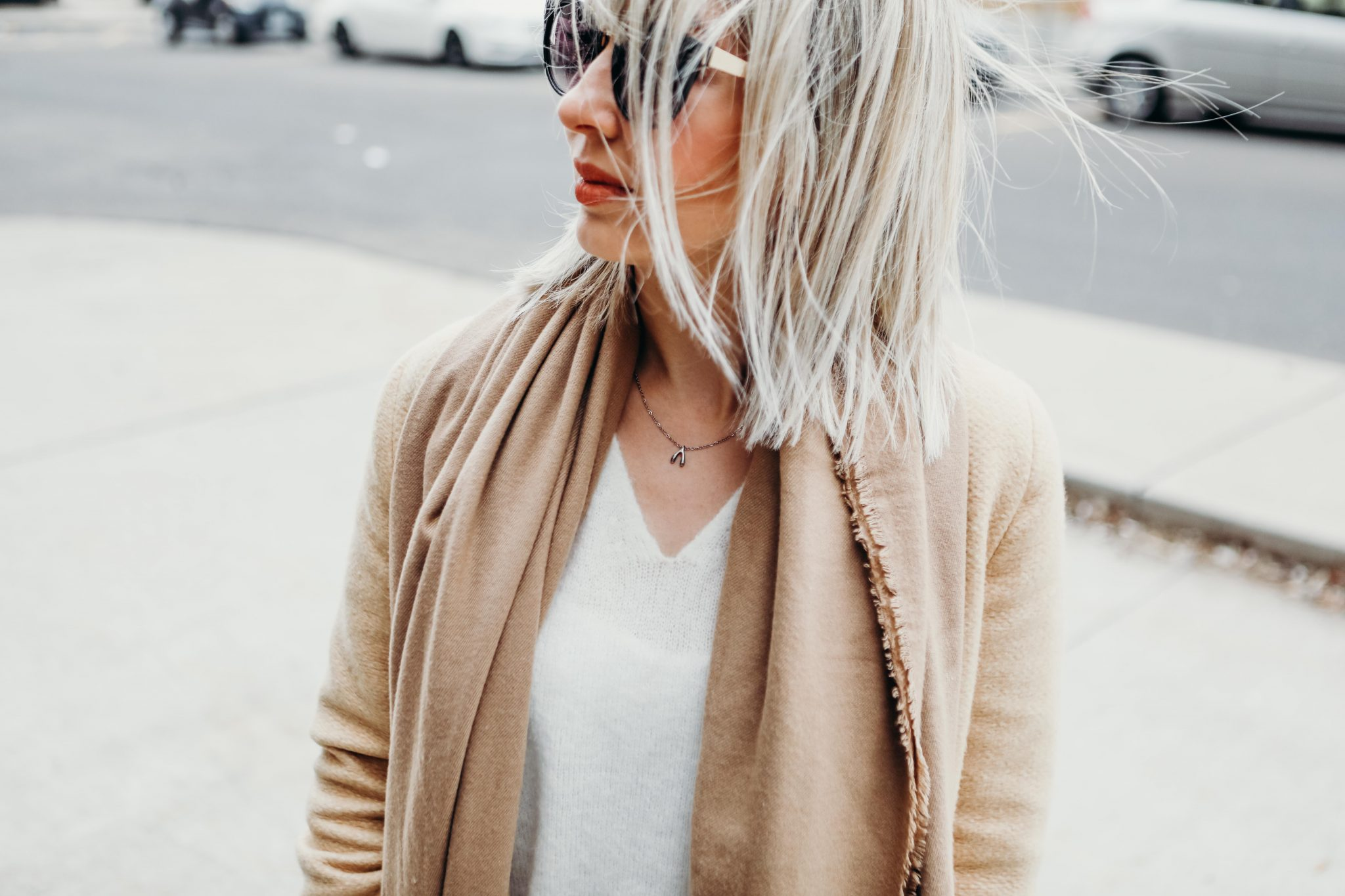 brown coat and long scarf street style (9 of 9)