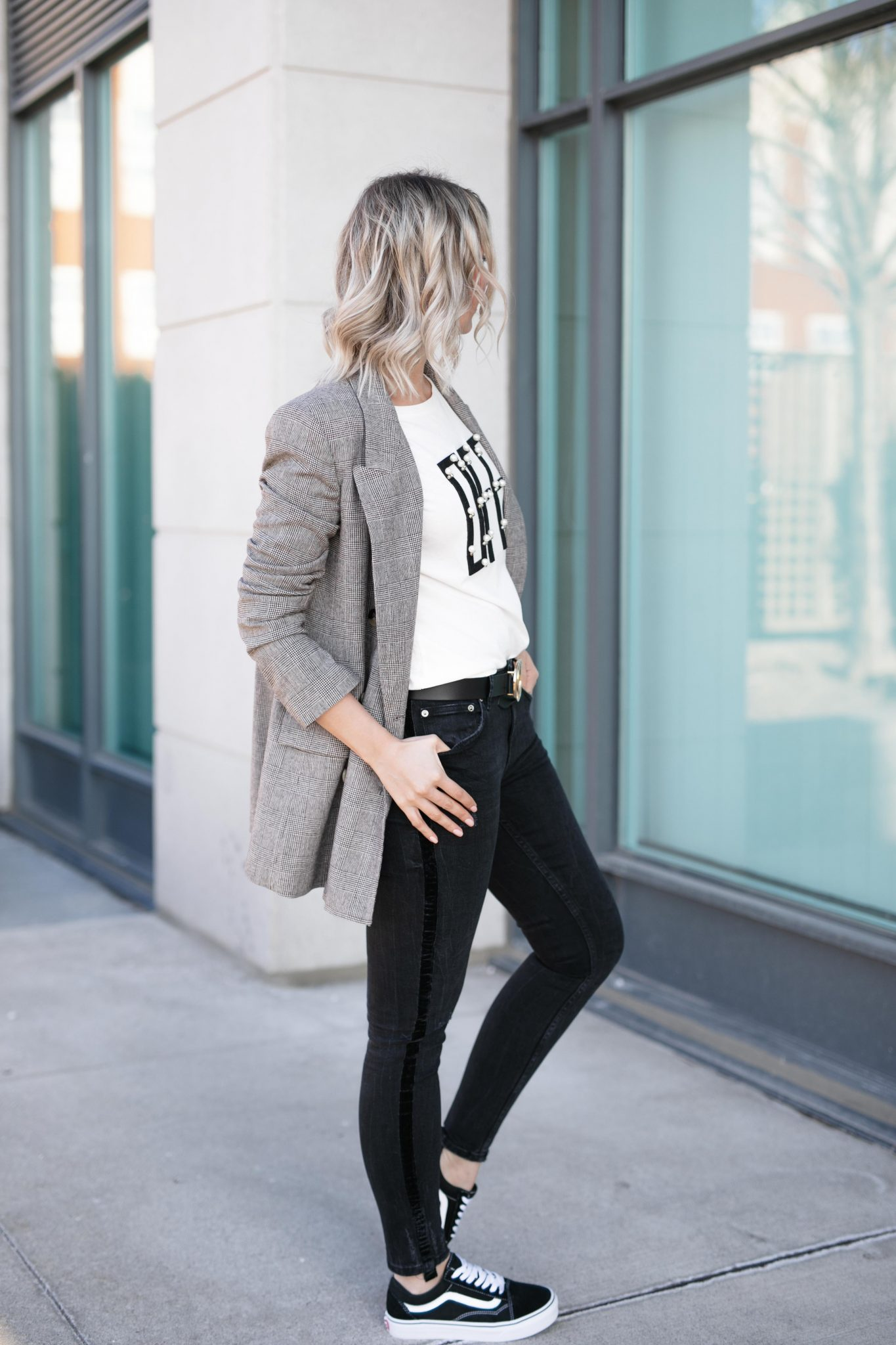 sporty casual street style