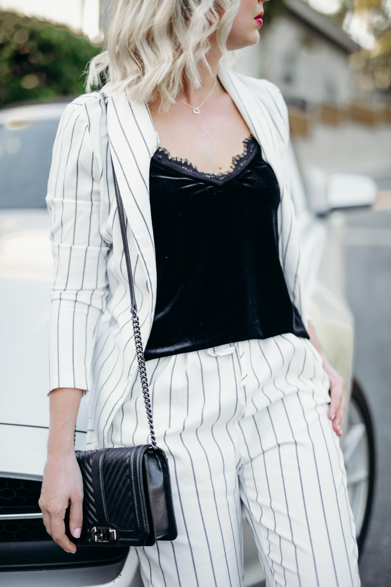 striped suit summer style 3