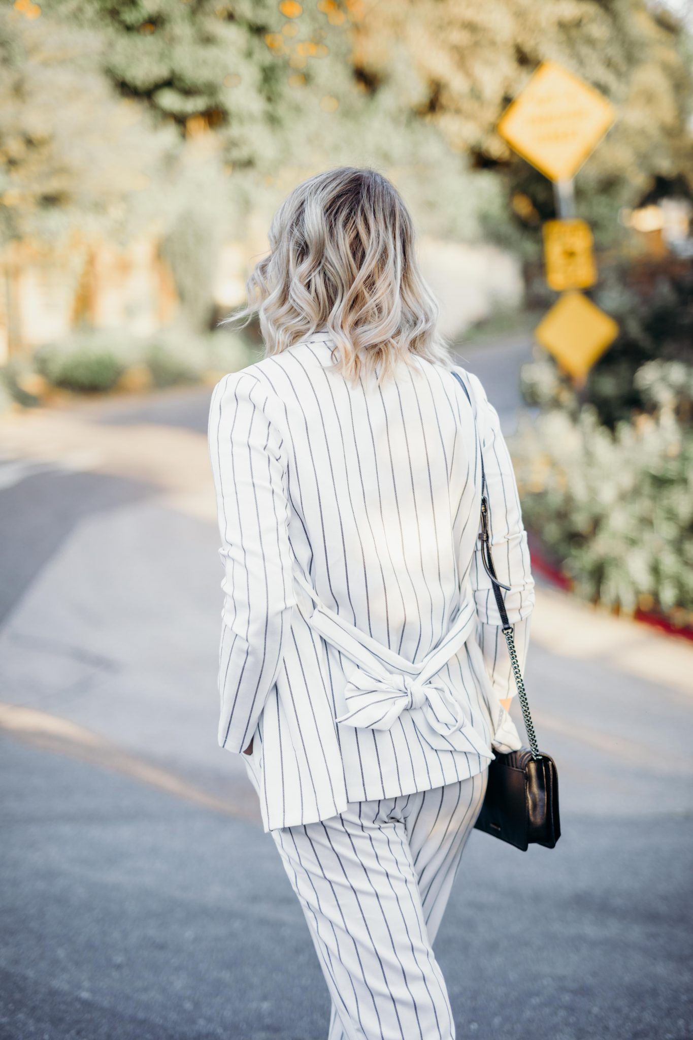 striped suit summer style 6