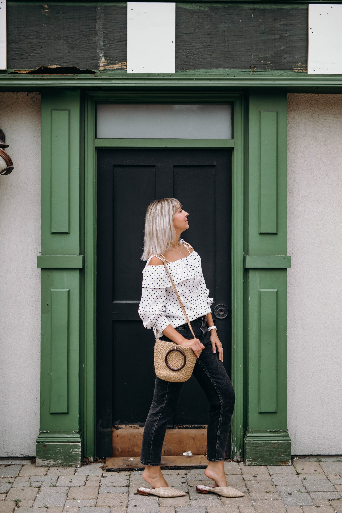 high waisted jeans summer style 5