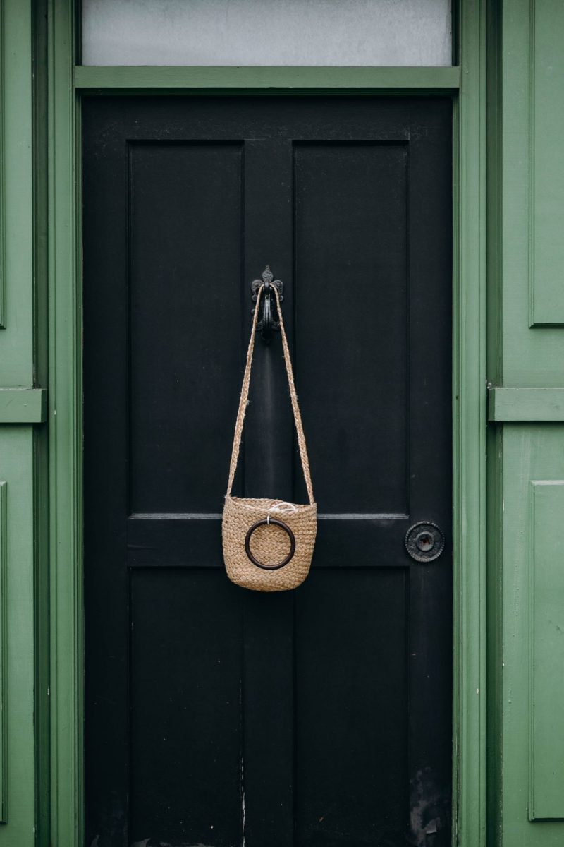 zara straw bag