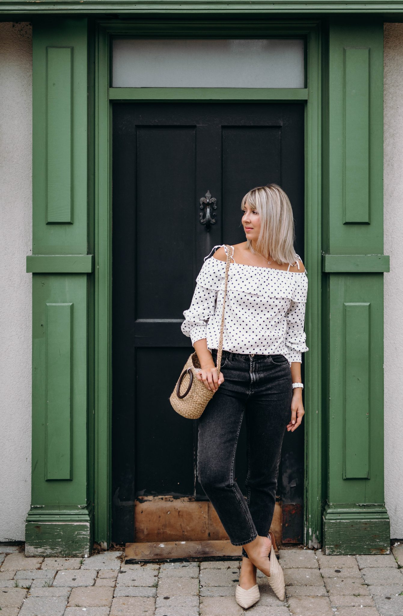 cold shoulder top summer style 3
