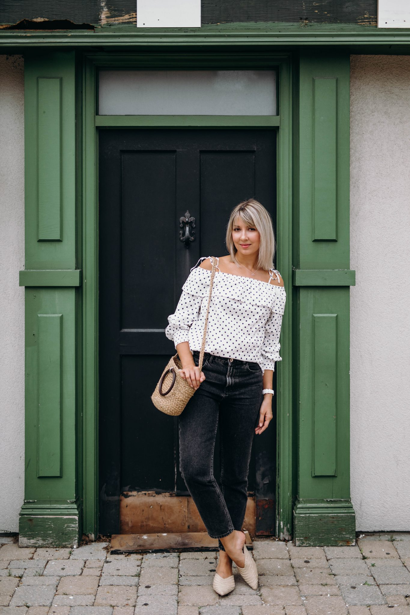 high waisted jeans summer style 4