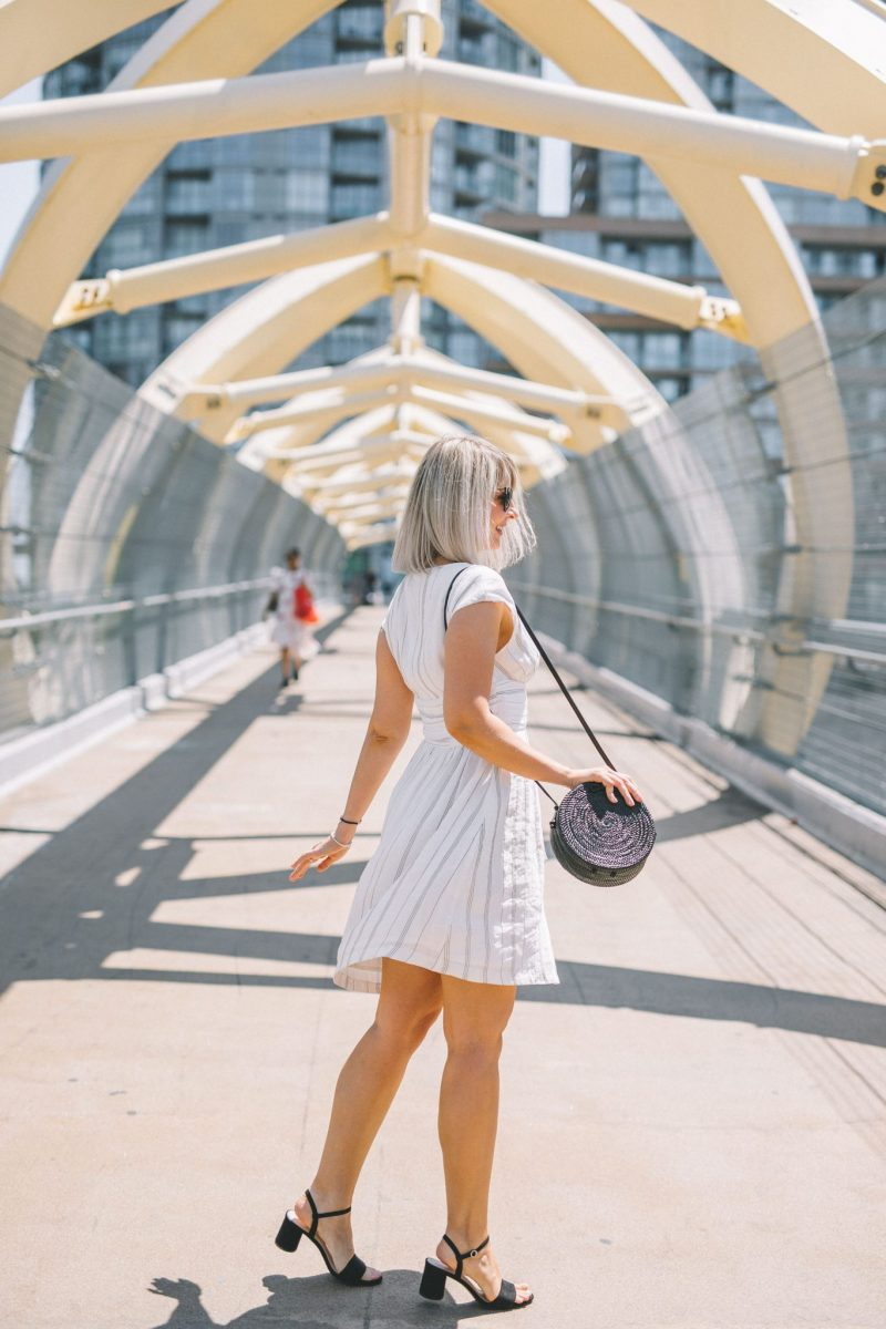 striped linen dress style 3