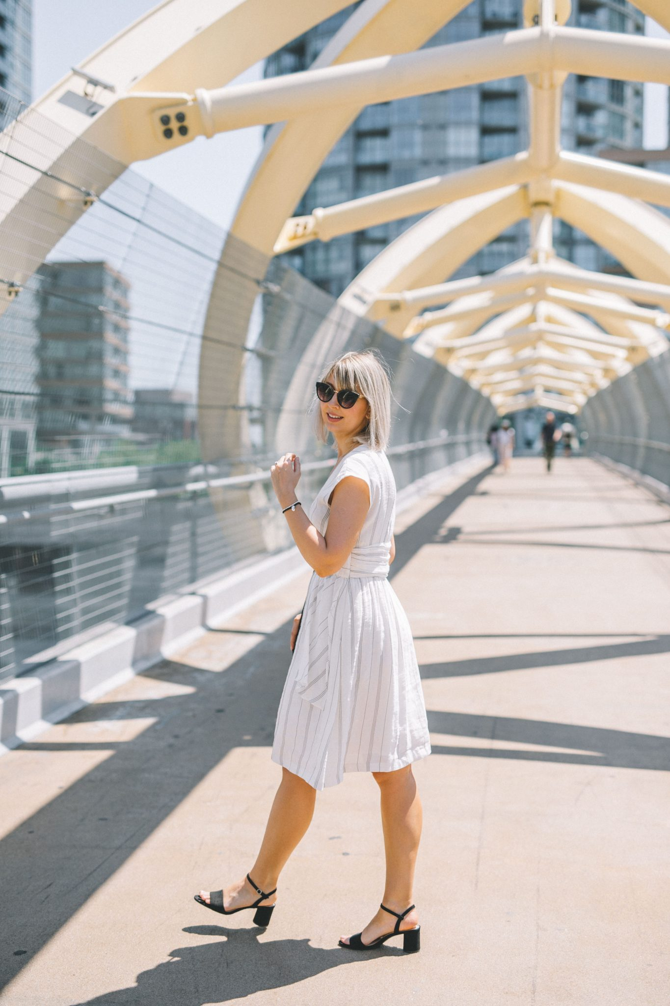 striped linen dress style 5