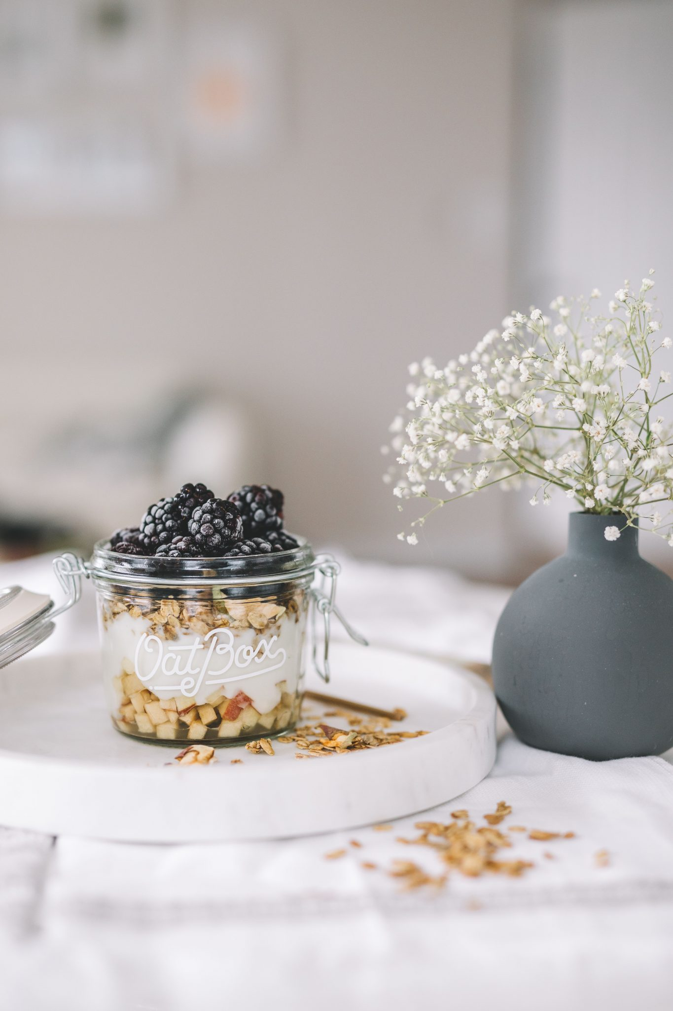 breakfast granola bowl 1