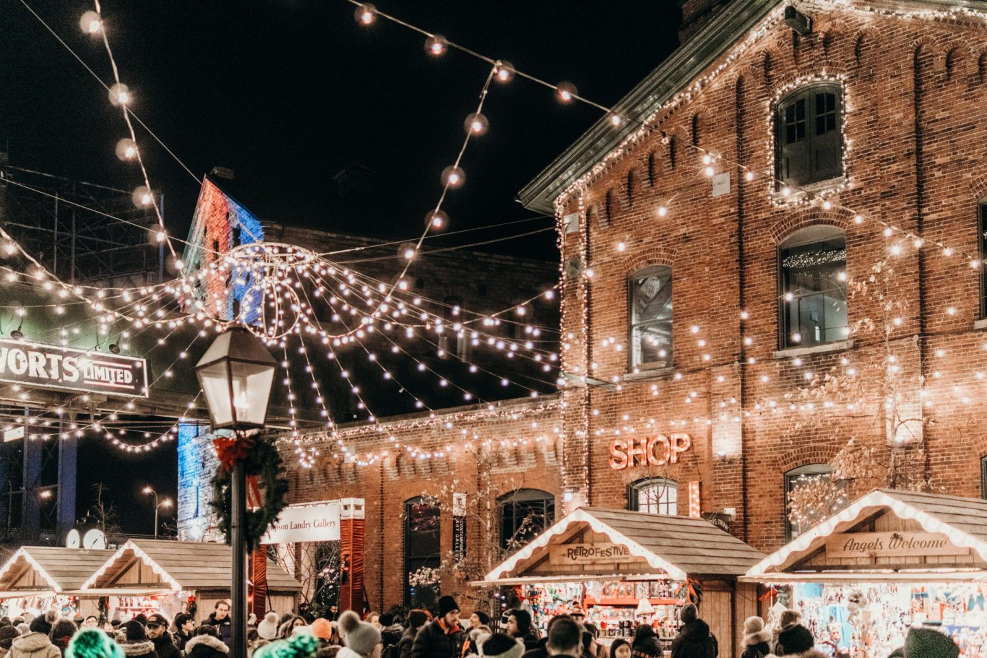 Toronto Christmas Market at Night 5