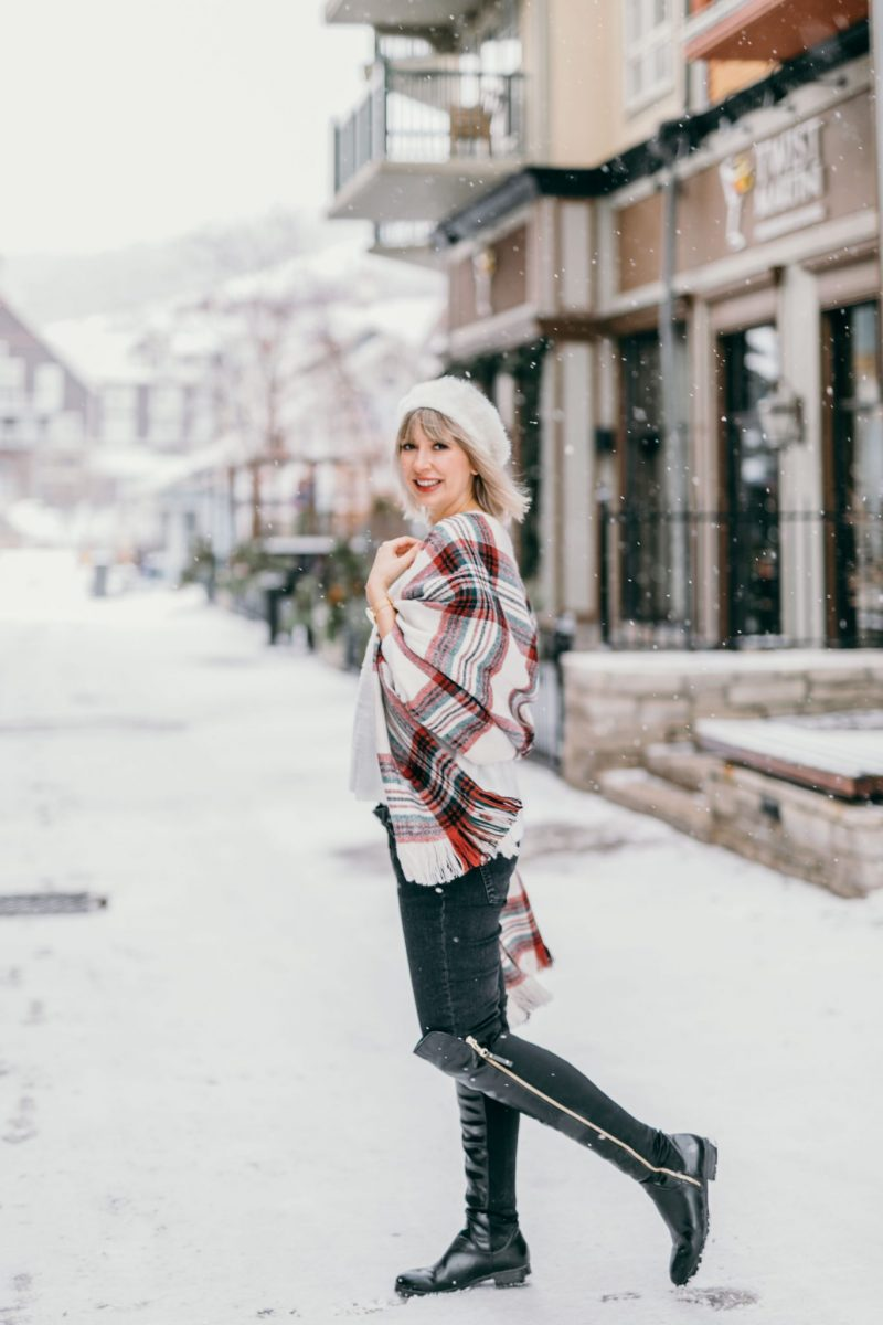 white knit sweater & plaid scarf (9 of 10)