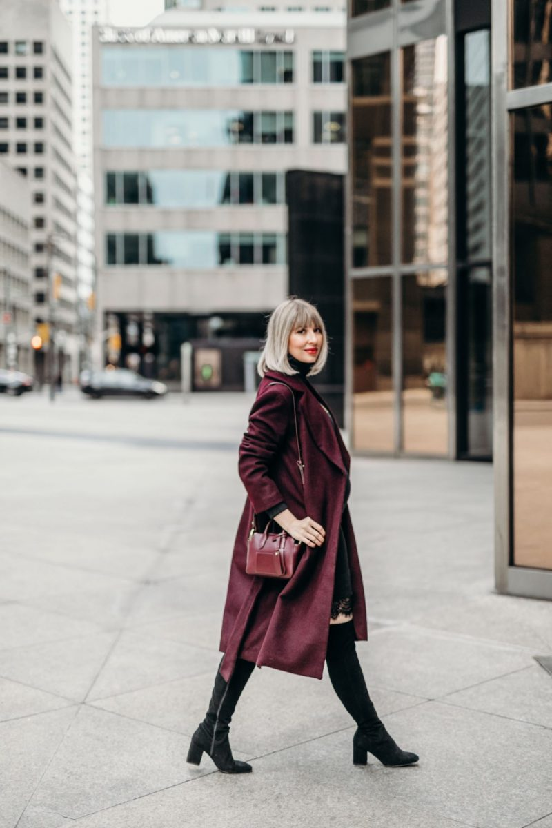 Long Wool Coat street style 4